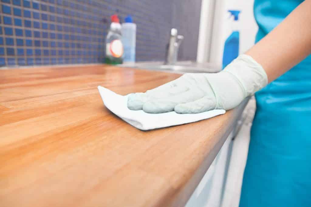 toallas desechables limpieza
