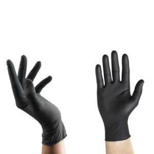 Guantes de Nitrilo Negro