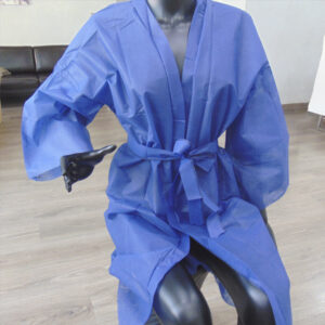kimonos desechables peluqueria azules