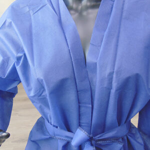kimonos desechables peluqueria azules