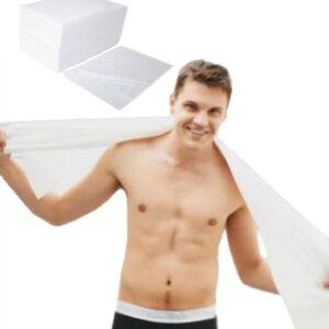 toallas desechables spunlace de baño 80x140