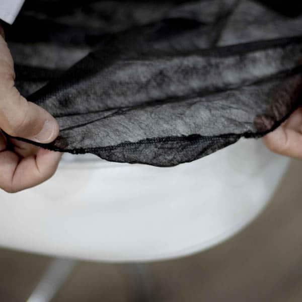 goma sabana desechable ajustable negra